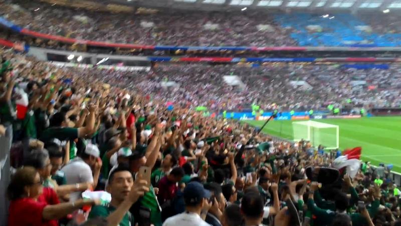 Мексика-Германия, мексиканцы на победку сыграли