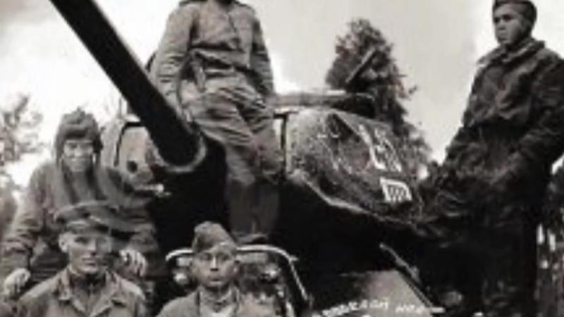 Уральский Добровольческий Танковый Корпус 70 лет6 07 под песню ДИВИЗИЯ ЧЁРНЫХ НОЖЕЙ