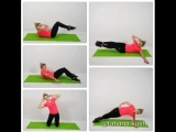 Тренировка для косых мышц живота