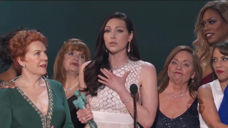 Laura's speech @ SAG Awards 2016