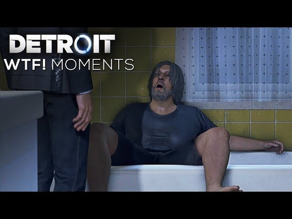 WTF Moments with Connor and Hank (Best/Funny/Akward Moments Compilation) - DETROIT BECOME HUMAN