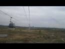 поездка по канатной дороге через Волгу г Нжний Новгород