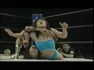 Manami Toyota vs Tomoko Kuzumi(a.k.a Azumi Hyuga)