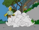 Frank Gehry as featured in The Simpsons