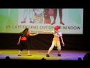 3.346. Hunter x Hunter (anime) - Hisoka Morou, Illumi Zoldyck - 69 CATS FALLING OUT OF THE WINDOW