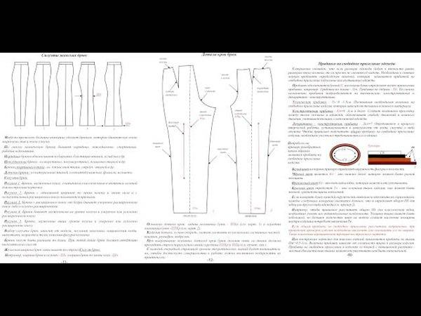 1 урок Силуэты и детали кроя брюк