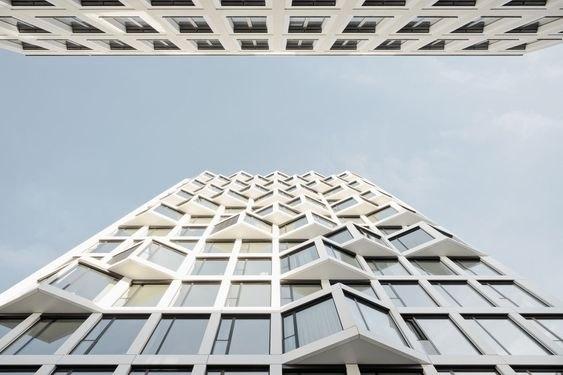 Жилые высотные здания в Мюнхене Allmann Sattler Wappner
