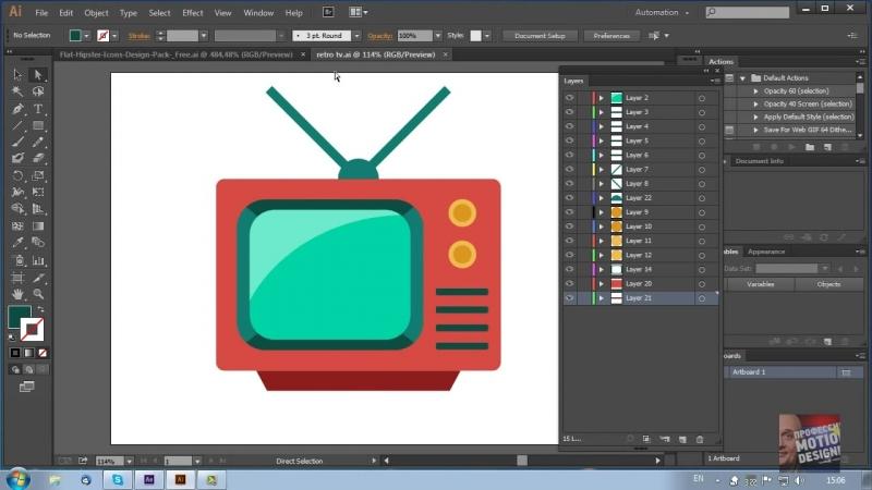 Шейпы. Как импортировать и анимировать векторный файл в After Effects