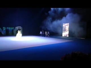 Сабина Мустаева на открытии Кубка мира RG 2018