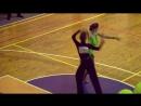 Соревнование по спортивным танцам я и мой партнер Сергей.