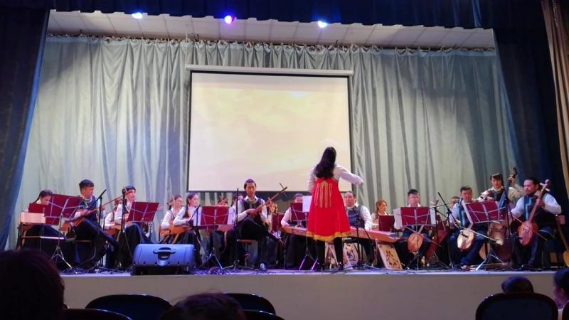 Хакасский национальный оркестр ч 2 6 апреля 2018 г