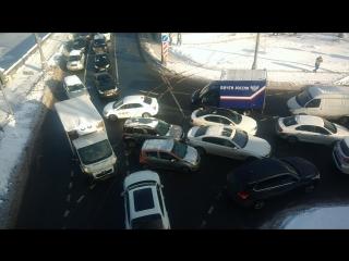 Перекресток в Москве