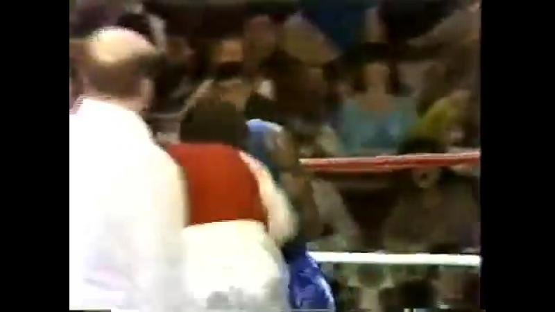 Матчевая встреча США - СССР 1979 г. 60 кг. Джонни Бамфус - Дмитрий Грубов