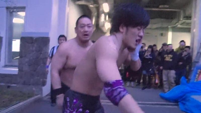 Sanshiro Takagi, Toru Owashi, Antonio Honda, Yuni vs. Masahiro Takanashi, MAO, Nobuhiro Shimatani, Chinsuke Nakamura (DDT)