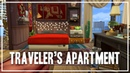 Traveler's Apartment [1312 21 Chic Street] - The Sims 4 Speed Build