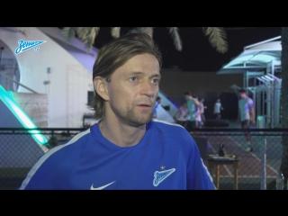 Анатолий Тимощук о тренировочной базе в Дубае и работе команды на сборах