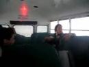 Автобус наехал на кочку СОТРЕТЬ ВСЕМ НЕ ПОЖАЛЕЕТЕ дико смешно