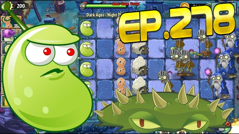 Plants vs. Zombies 2 || Got a new Plant Magnet-shroom - Dark Ages Night 15 (Ep.278)