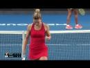 Теннис. Женщины. Australian Open 2018. Хард Халеп Симона - Осака Наоми 2:0 (6:3, 6:2)