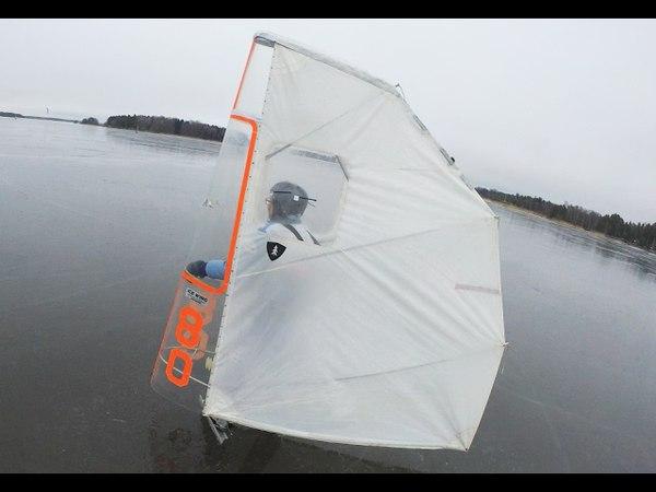 Two of a kind SM skridskosegling 2017 Vingsegel Draksegel Kitewing Kite Surfsegel