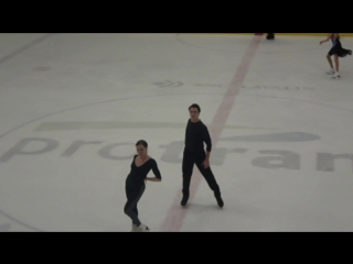 Tessa and Scott SD Practice CTN 2018 (part 1)