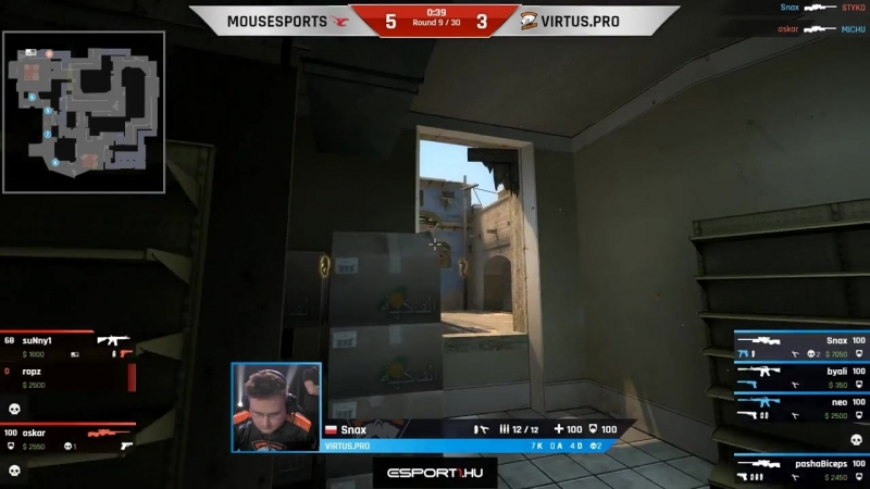 Snax on snipes