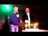 Праздничный торт! День Рождения Мирослава Волкова