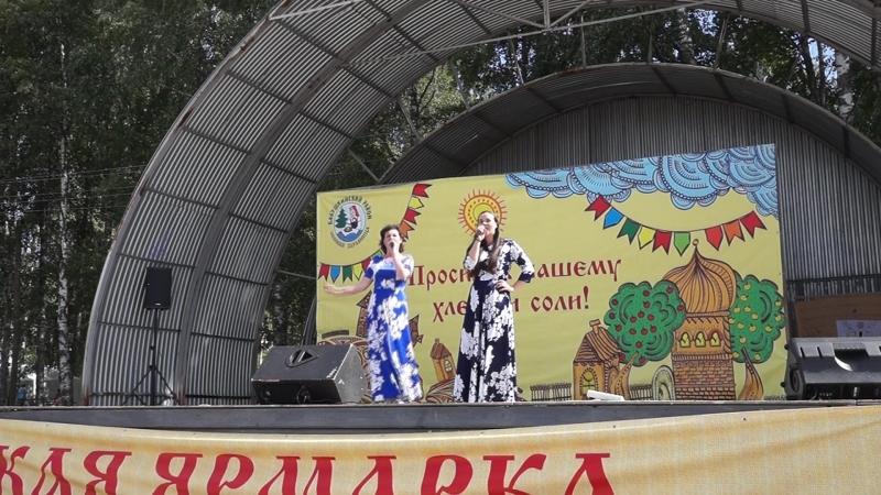 \ Что ты роза... \ Юлия Ерегина и Мария Королева 11 08 2018г