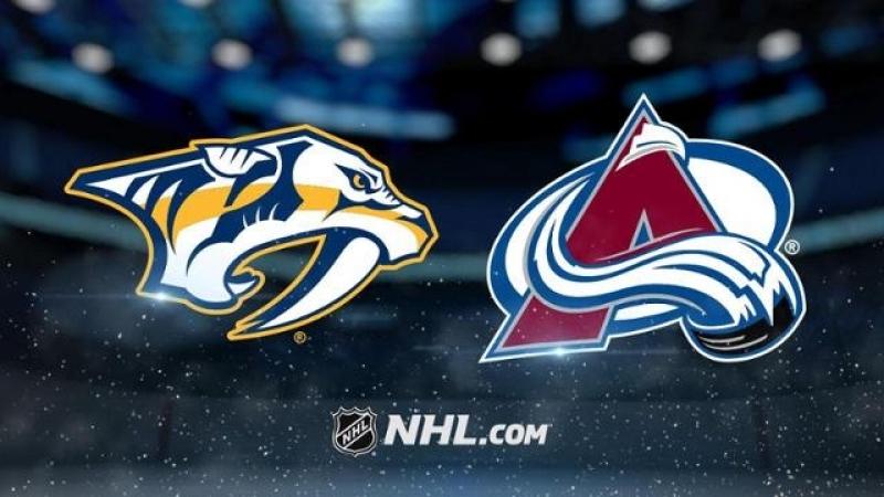 НХЛ - регулярный чемпионат. Колорадо Эвеланш – Нэшвилл Предаторз – 2:4 (1:1, 1:2, 0:1)