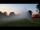 мощная водяная завеса пожарка