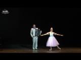 Александр Поелуев и Ирина Чеботарева, хореография Елизавета Мислер