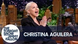 Christina Aguilera Sings the PJ Masks Theme Song as a Lullaby
