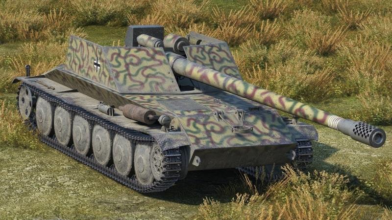 Интересный бой на Rhm.-Borsig Waffenträger