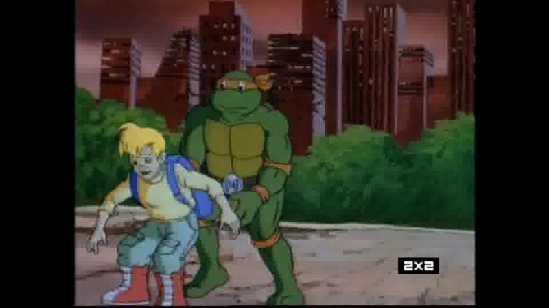 Черепашки-ниндзя (TMNT) S03E44 2x2