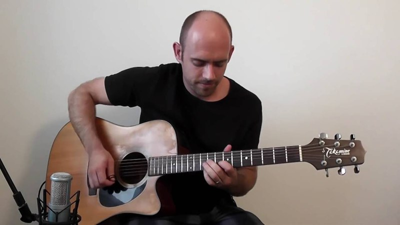 Nothing Else Matters Metallica Acoustic Guitar Solo Cover Fingerstyle