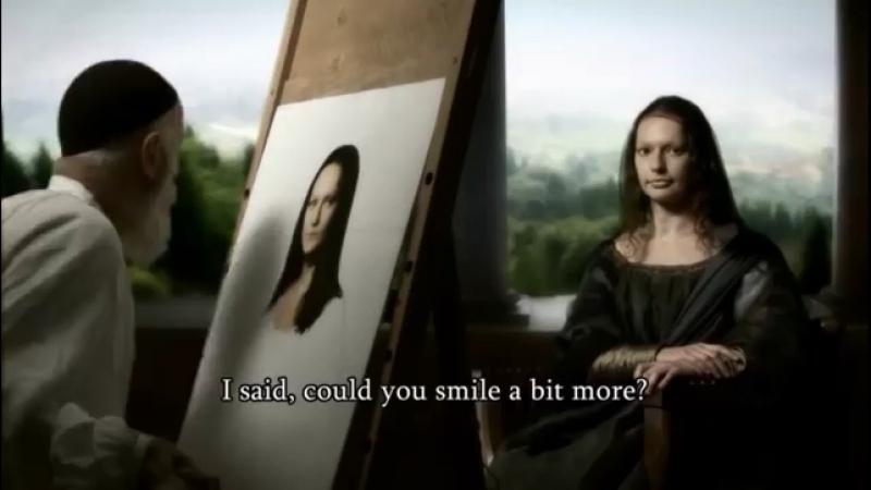 Реальная история улыбки Моны Лизы (by Nick Loven).