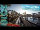 Disney California Screamin Coaster at Night Disneyland Resort 2018✈🌴☀