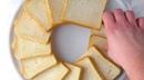 Кольцо из тостов - новый хит вечеринок! Простейшее угощение для праздника.