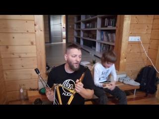 Видеоуроки на барабанах от гены гравицапки!урок - 5 #каталыч #генагравицапка