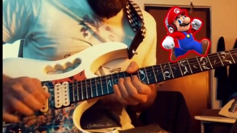 Day off cazzeggio e mal di gola 😣 supermario theme wah ibanez guitar guitarist guitarporn me video
