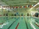Первые соревнования по плаванию. Бассейн Лагуна