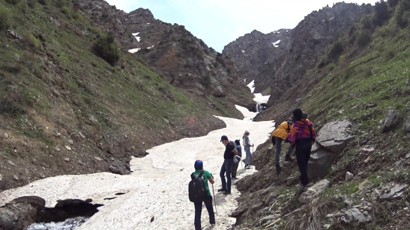 Водопады Донгуз- Тау