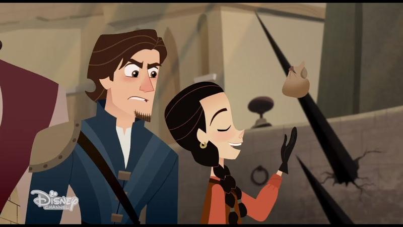 First Look at Britt Robertson on 'Rapunzel's Magical Adventure'