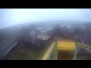 Безбашенный руфер из Рыбинска, снова покорил чертовое колесо