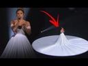 O vestido tinha apenas beleza até que a câmera se aproximou e ele se transformou completamente