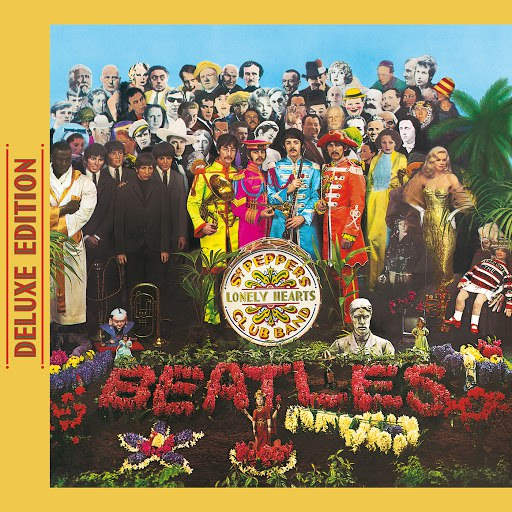 Альбом The Beatles Sgt. Pepper's Lonely Hearts Club Band (Deluxe Edition)