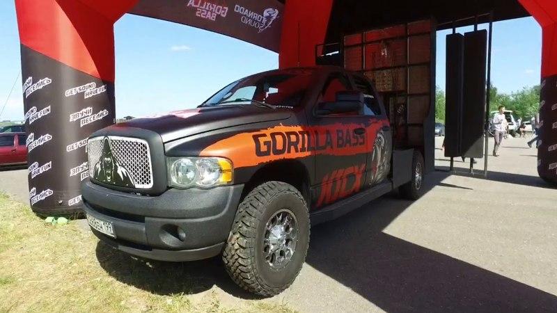 Самый громкий додж в мире! Dodge Girilla Kicx