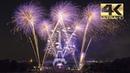 ⁽⁴ᴷ⁾ Paris 2018 Feu d'artifice! - Tour Eiffel Quatorze Juillet - Fête nationale - Groupe-F