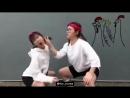 Весёлые корейские куринные танцы