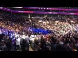 Хабиб Нурмагомедов . Выход на бой  UFC 223 ... Сабина Саидова  !